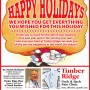 Timber Ridge Holiday Greeting.indd